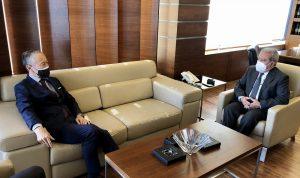 المستجدات وملف المساعدات بين المشرفية وسفير اليابان
