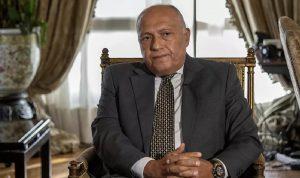 """""""الحزب"""" يقلّل من أهمية زيارة شكري: مصر لا دور لها"""