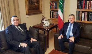 السنيورة بحث مع السفير المصري في الأوضاع الراهنة