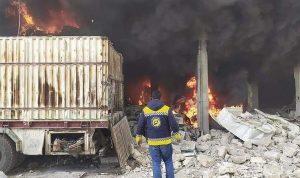 إصابة 8 أشخاص بانفجار عبوة ناسفة في حمص