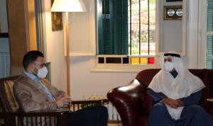 المستجدات اللبنانية بين تيمور جنبلاط وسفير الكويت