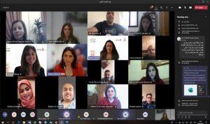افتتاح الدورة التدريبية الإفتراضية المخصصة للصحافيين الميدانيين