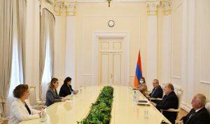 العلاقات الثنائية بين أوهانيان والرئيس الأرميني