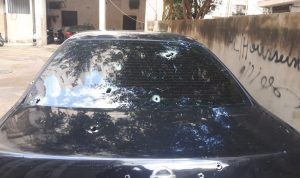 تعرض سيارة الشيخ عباس زغيب لإطلاق نار