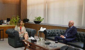 الأوضاع العامة بين عبد الصمد وسفير الأرجنتين
