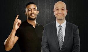 """عمرو أديب لمحمد رمضان: """"أنا هربيك"""""""
