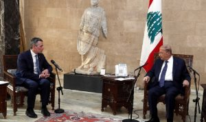 عون: لتفعيل التعاون بين لبنان وسويسرا