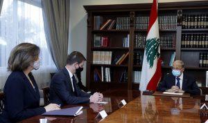 """عون عن """"الترسيم"""": يحق للبنان أن يطوّر موقفه وفقًا لمصلحته"""