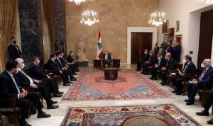 وزير الصحة العراقي بعد لقائه عون: توجه حكومي لدعم لبنان