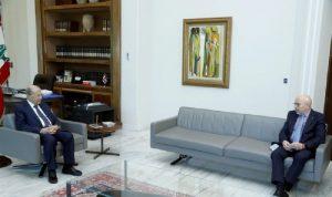 عون التقى سفير الأوروغواي في زيارة وداعية