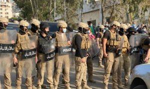 بعد اقتحام شركة مكتّف.. تعزيزات أمنية لإبعاد المتظاهرين