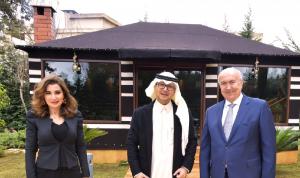مخزومي يزور بخاري: لحكومة مستقلين من رأسها إلى وزرائها