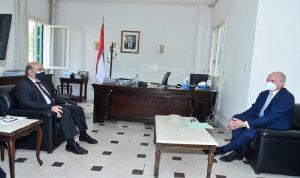 وهبه بحث مع سفير ألمانيا في الأوضاع اللبنانية