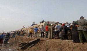 """""""الصحة المصرية"""":  11 قتيلًا في حادث القطار"""