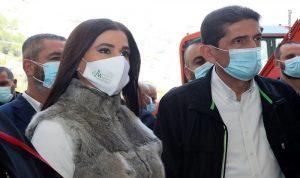 ستريدا جعجع واسحق زارا مستشفى أنطوان الخوري