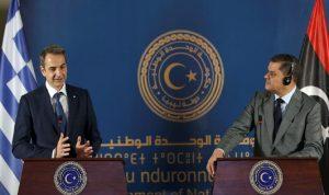 اليونان تستأنف العلاقات الدبلوماسية مع ليبيا
