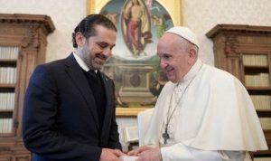 تفاصيل زيارة الحريري الفاتيكانية