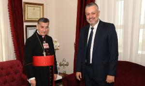 حبيش التقى الراعي: لتشكيل حكومة وإنقاذ اللبنانيين من القعر
