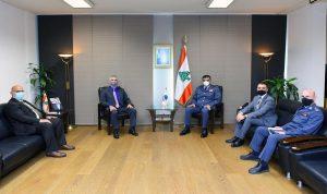 عثمان استقبل ضابط الارتباط لدى السفارة الأميركية