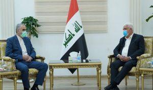 بغداد وطهران تبحثان تعزيز التعاون العسكري بينهما