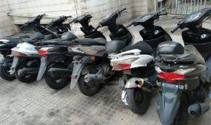 توقيف عصابة سرقة دراجات آلية في المتن