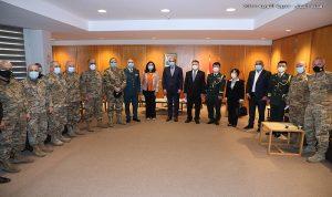 كمية من لقاحات كورونا هبة من السلطات الصينية للجيش اللبناني