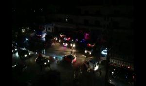 بالفيديو- توقيف 17 شاحنة تحمل الأغنام في منطقة المنارة
