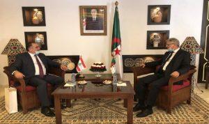 تعاون سياحي وصناعي بين لبنان والجزائر؟