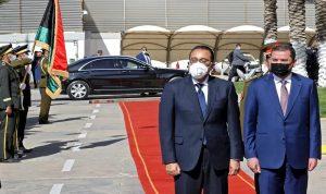 رئيس وزراء مصر: ندعم جهود المصالحة الليبية