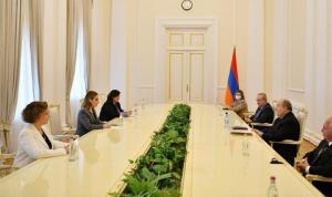 اوهانيان التقت الرئيس الأرميني… وهذا ما دار بينهما