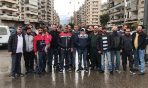 اعتصام لموزعي الخبز في طرابلس