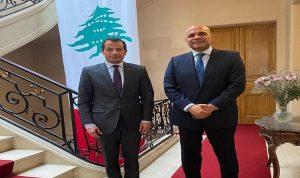 العلاقات الثنائية بين سفير لبنان في فرنسا ونظيره الاماراتي