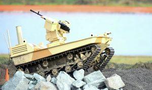 روبوت قتالي جديد للجيش الإسرائيلي على حدود غزة