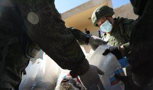 الجيش الروسي يقدم مساعدات لسكان شمالي شرق سوريا