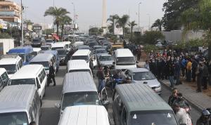 النقل البري يعتصم: لإلغاء المعاينة الميكانيكية وإلا!