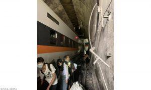 عشرات القتلى في حادث قطار في تايوان