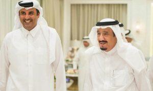 العاهل السعودي يدعو أمير قطر لزيارة المملكة