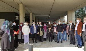 """اعتصام للعاملين في """"اللبنانية"""" اعتراضًا على العودة إلى الدوام الكامل"""