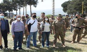 عكر: الجيش يبذل كل الجهود لمكافحة التهريب