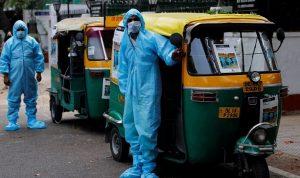 الهند.. تحول عربات الـتوكتوك لسيارات إسعاف لمصابي كورونا