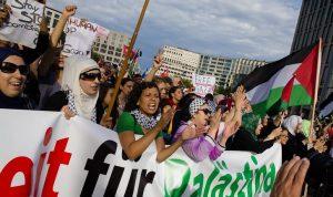 ألمانيا تحذر من الاحتجاجات مع احتدام التصعيد في غزة