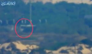 بالفيديو- لحظة استهداف حافلة الجنود الإسرائيلية