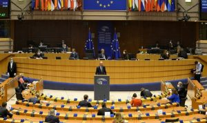 نواب يطالبون البرلمان الأوروبي بإقرار عقوبات على إسرائيل