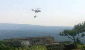 الجهود مستمرة لإطفاء الحرائق بغابات وادي جهنم العكارية
