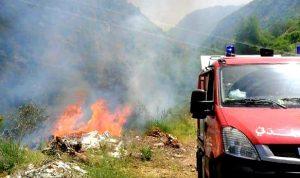 السيطرة على حريق بلدة المعنية