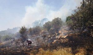 حريق كبير في بسابا… ومناشدة للمساعدة!