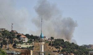 حريق هائل في جبل الرويس