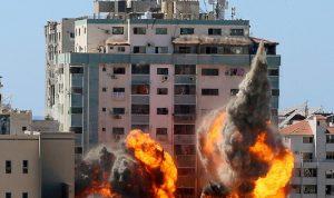 غارات إسرائيلية تستهدف مواقع للمقاومة في غزة