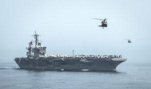 البنتاغون: مناورة إيرانية غير آمنة أمام سفننا في مضيق هرمز