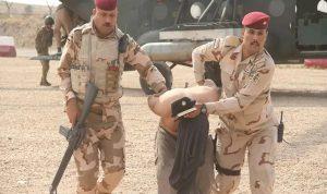 القوات العراقية تلقي القبض على إرهابي خطير